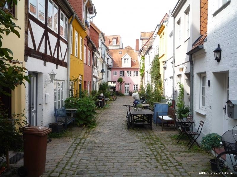 Innenhof in Luebeck